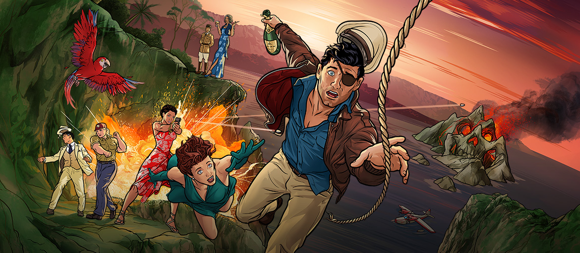 Archer Danger Island Season 9 FXX TV series