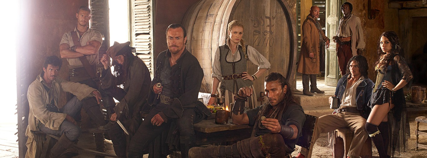Black Sails Starz hero