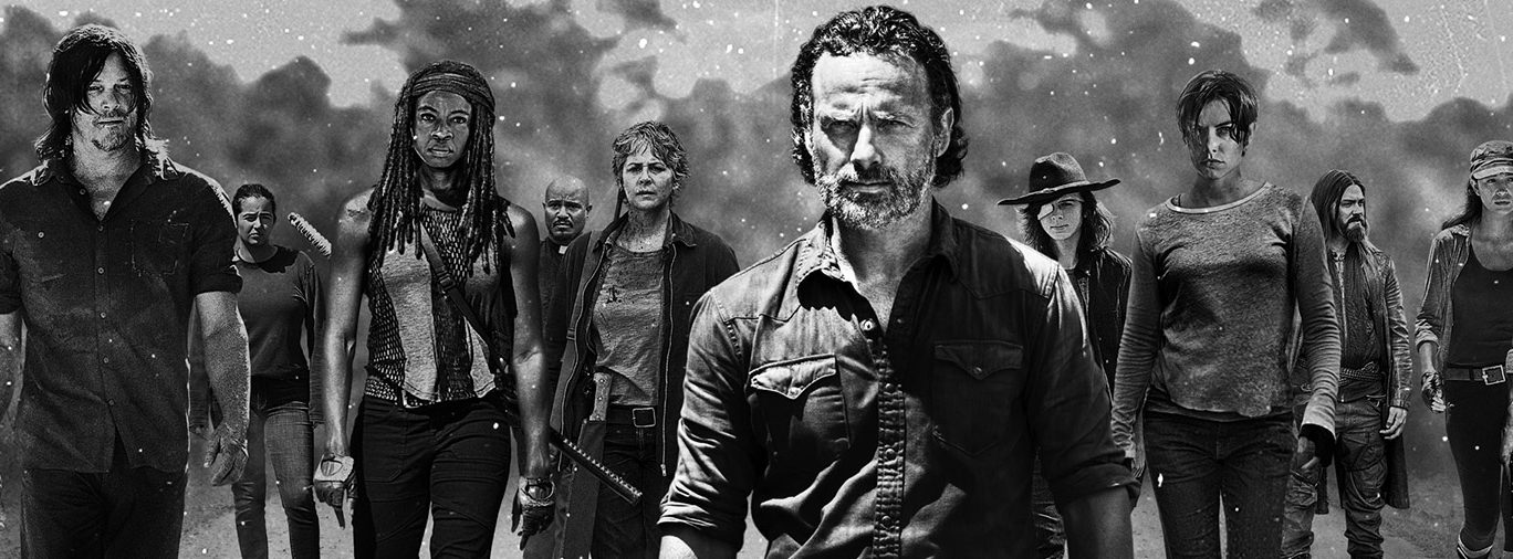 The Walking Dead Season 7 hero AMC TV series