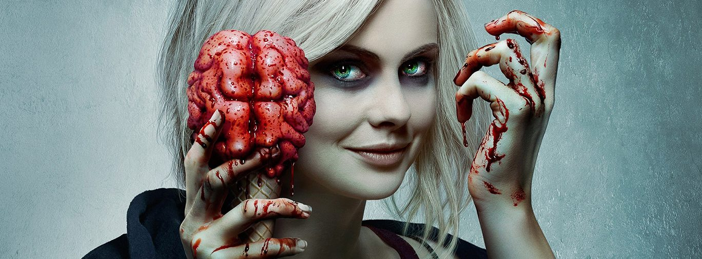 iZombie CW TV series Rose McIver hero