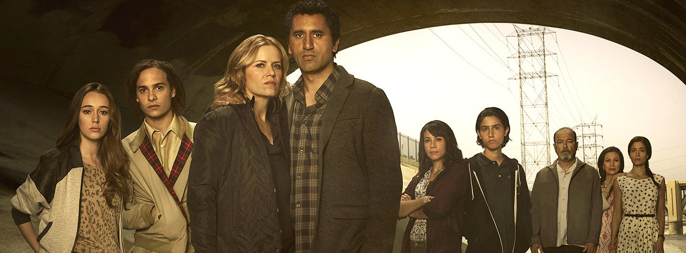 Fear The Walking Dead AMC TV series hero