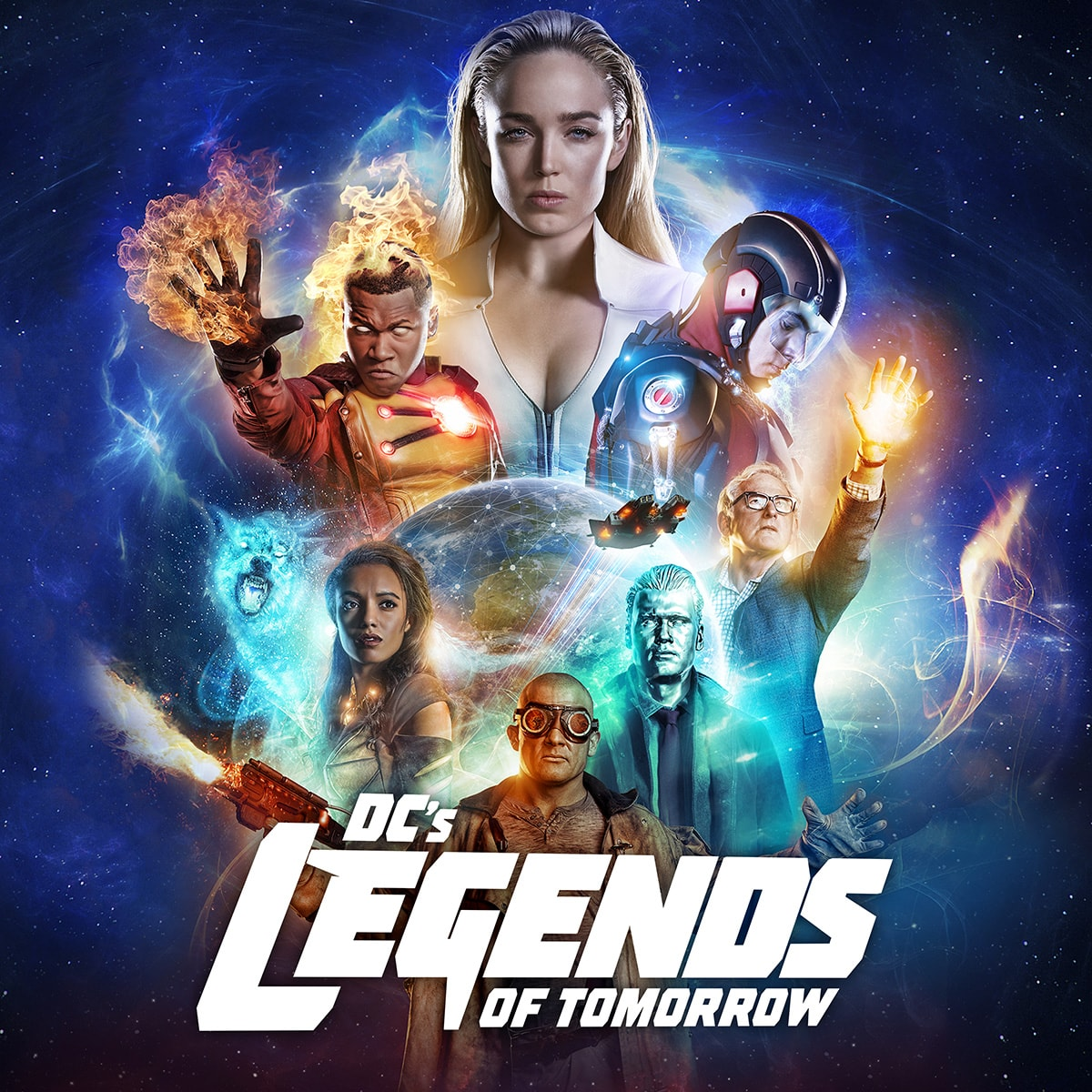 Legends Of Tomorrow Burning Series