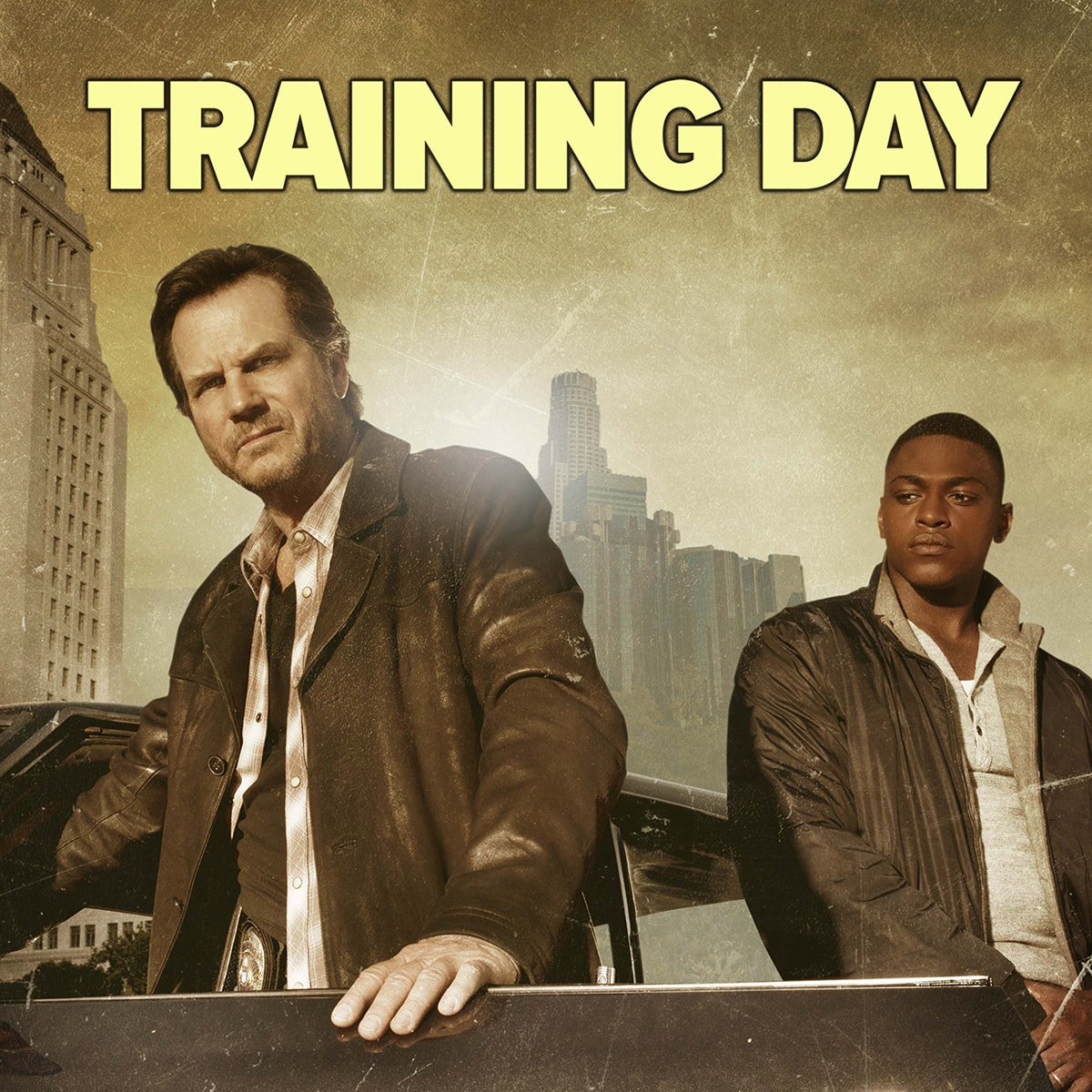 Training Day CBS Promos Television Promos