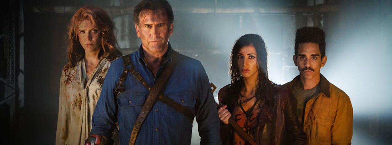 Ash vs Evil Dead Starz hero