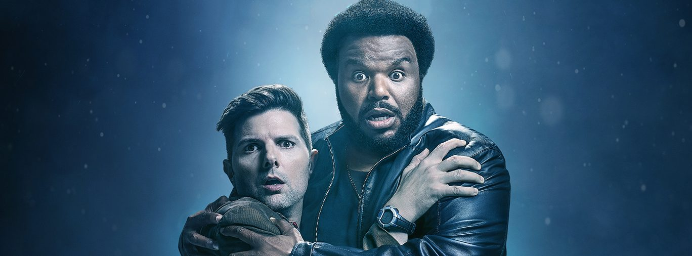 Ghosted FOX TV series hero Craig Robinson Adam Scott