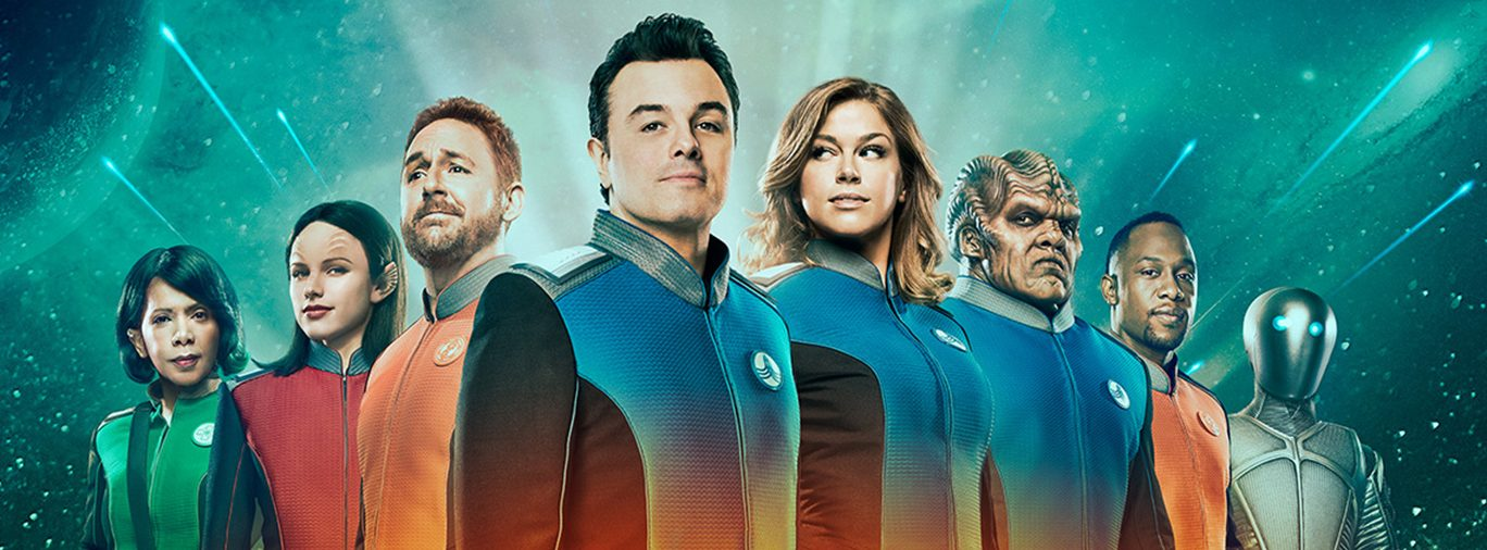 The Orville FOX TV series hero Seth MacFarlane