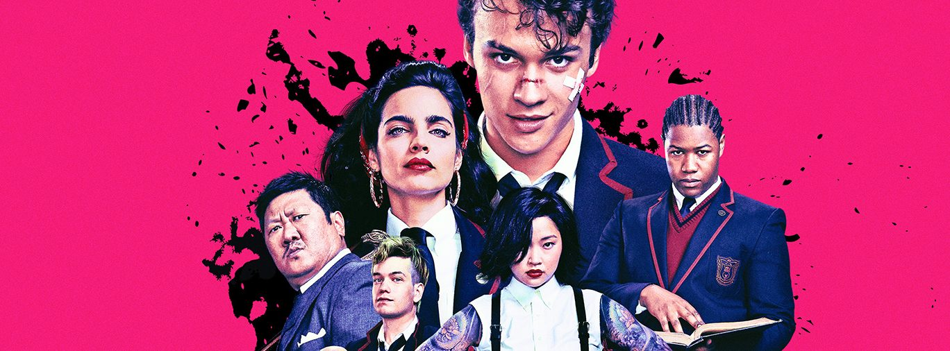 Deadly Class Syfy TV series hero
